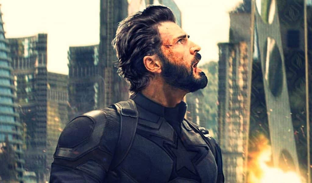 Captain America Avengers: Infinity War
