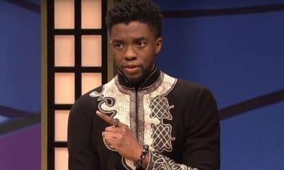 Chadwick Boseman Black Panther SNL