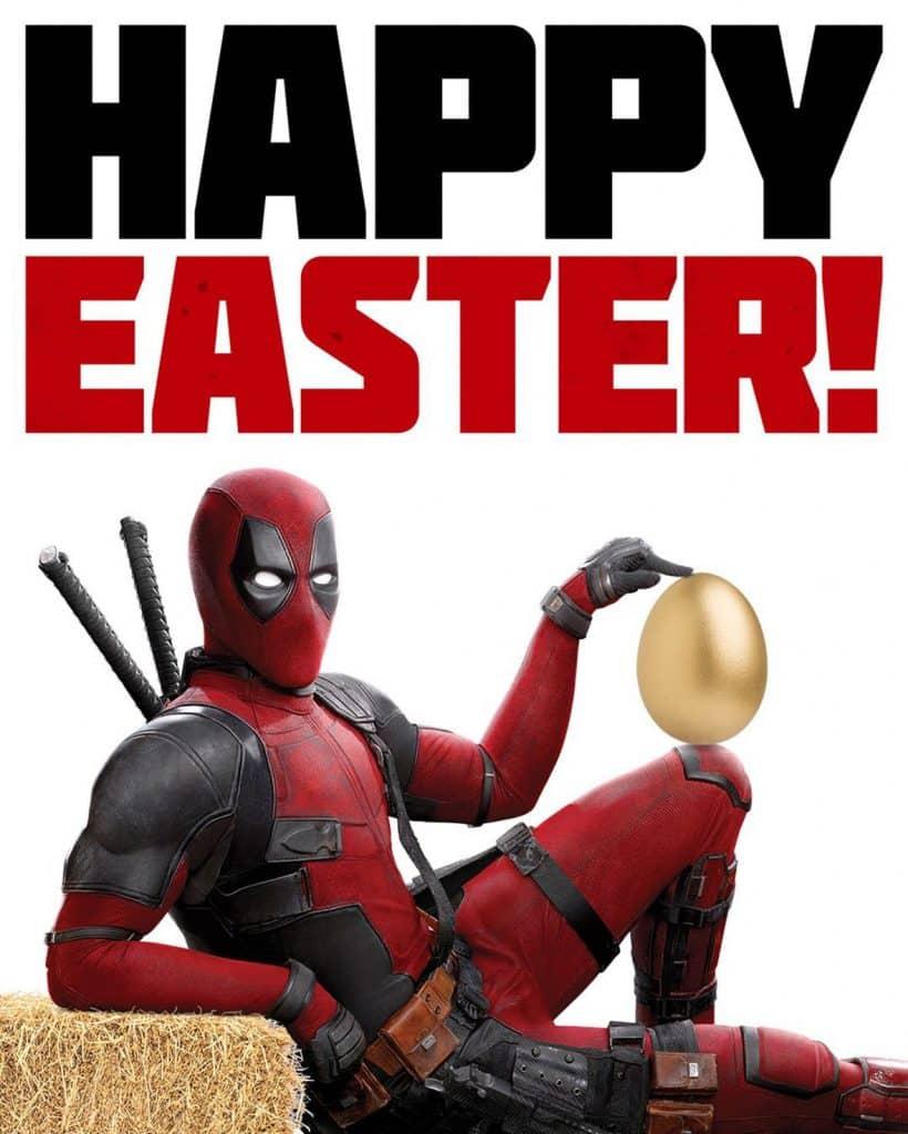 Deadpool 2 Easter Egg Poster
