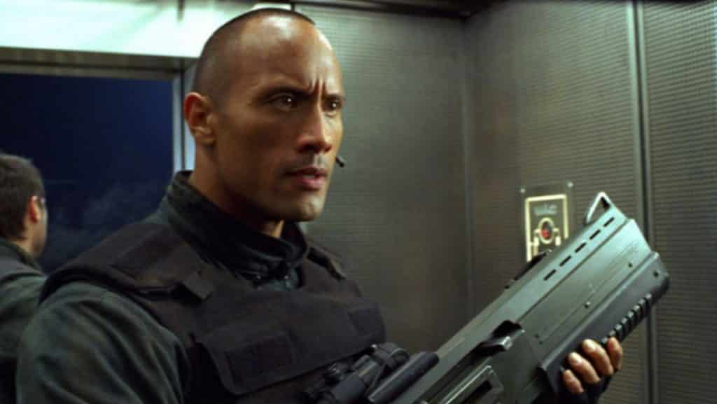 Doom Movie 2005 Dwayne Johnson
