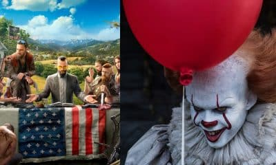 Far Cry 5 IT Pennywise Easter Eggs