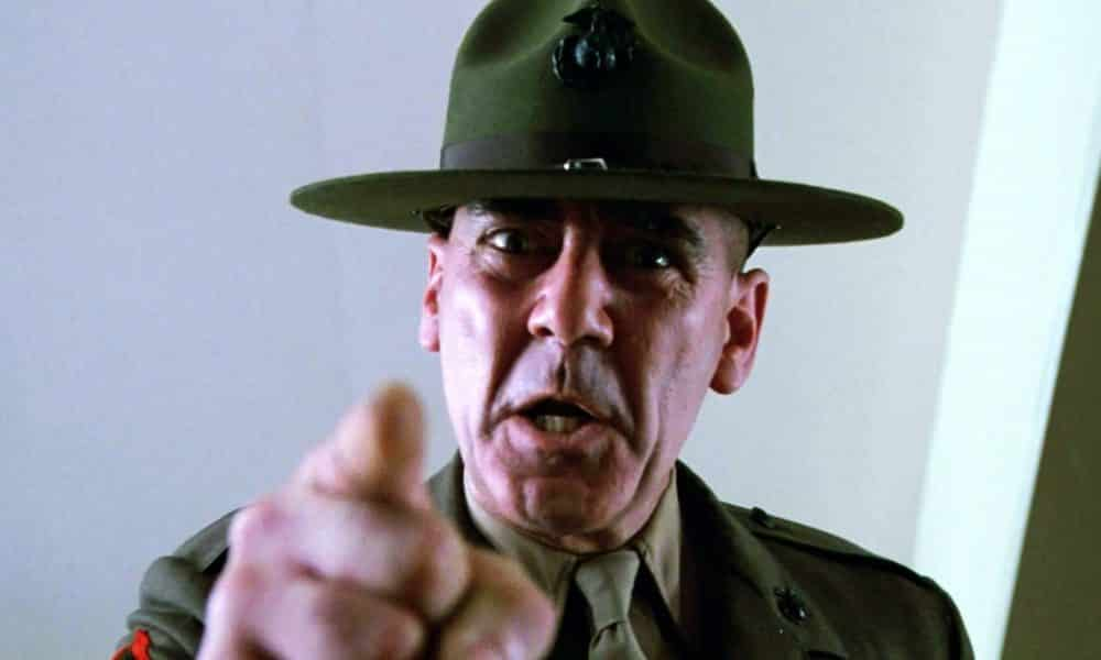 R Lee Ermey Young Legendary Actor R. Lee...