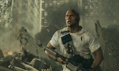Rampage Movie Dwayne Johnson