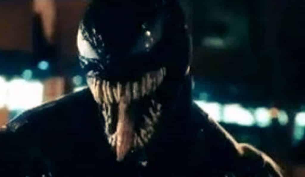 venom movie leaked footage reveals tom hardy as venom