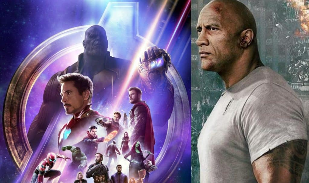 Avengers: Infinity War Dwayne Johnson