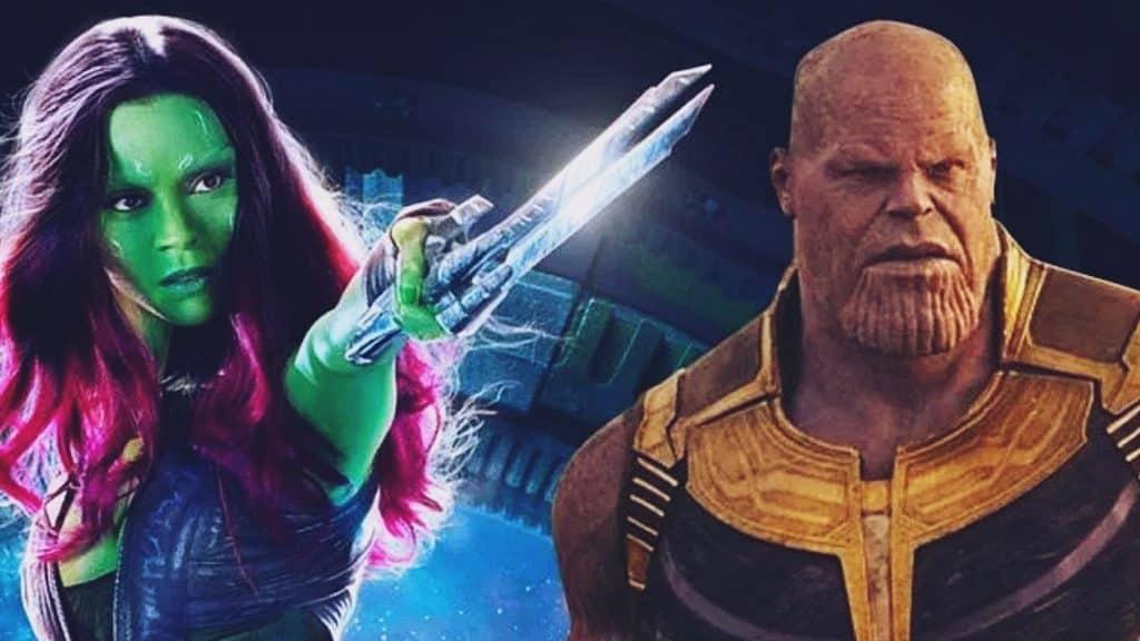 Avengers: Infinity War Gamora Thanos