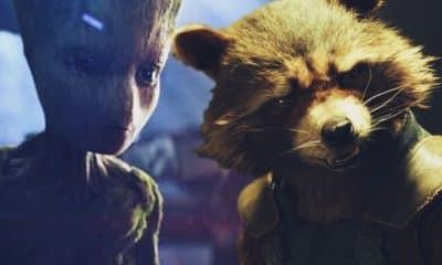 Avengers: Infinity War Groot Rocket Raccoon