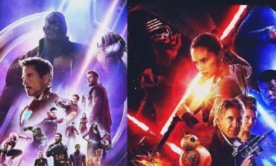Avengers: Infinity War Star Wars: The Force Awakens