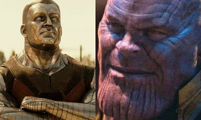 Colossus Thanos Deadpool 2