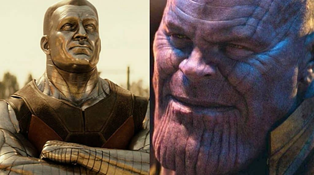 Colossus Thanos Deadpool 2