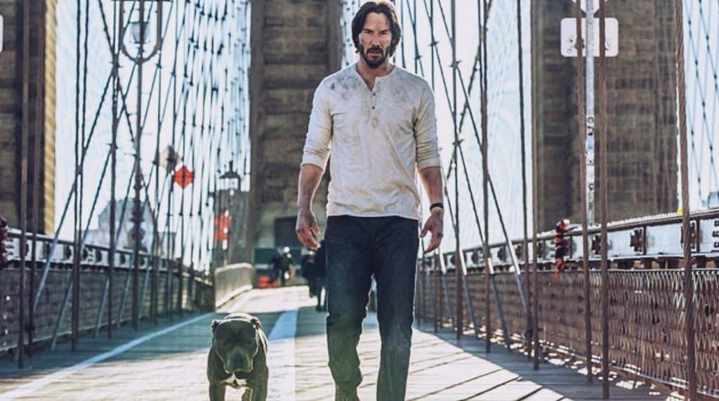 John Wick 3 Keanu Reeves Dog