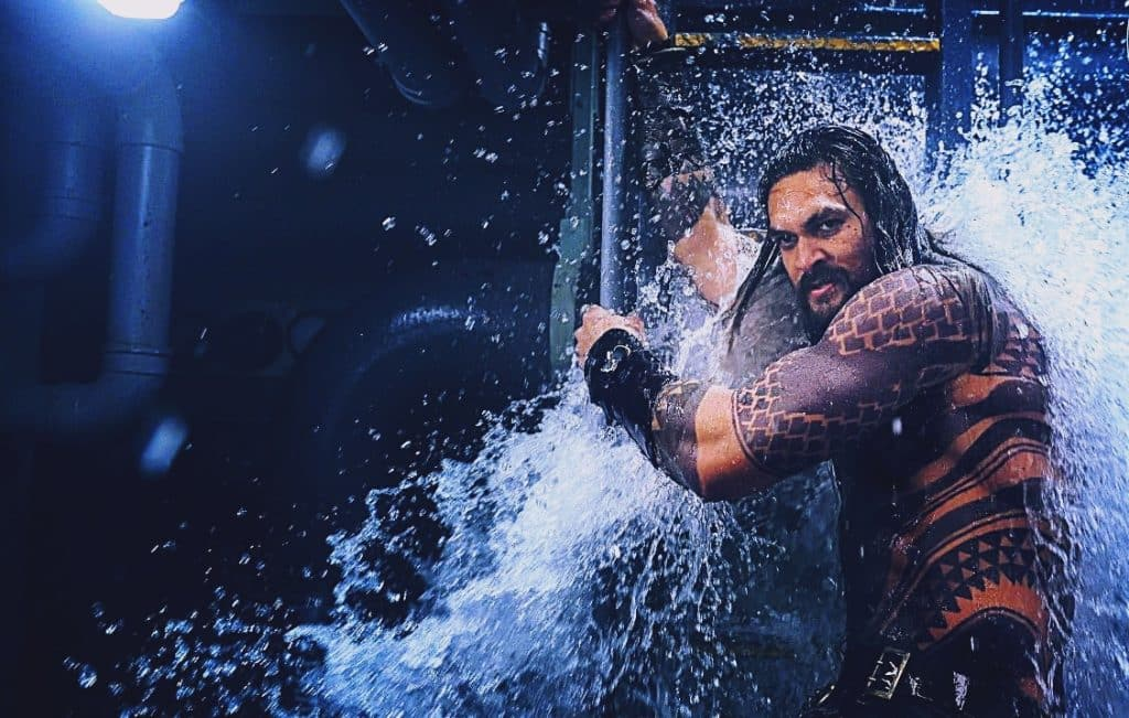 Aquaman First Look Jason Momoa
