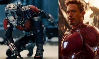 Avengers 4 Ant-Man Iron Man