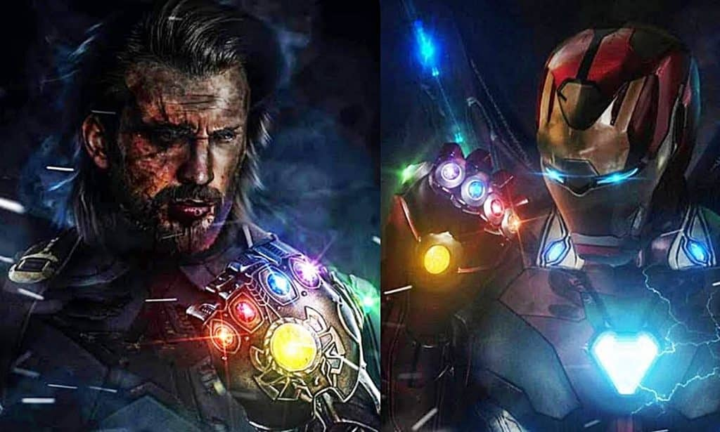 Avengers 4 Captain America Iron Man