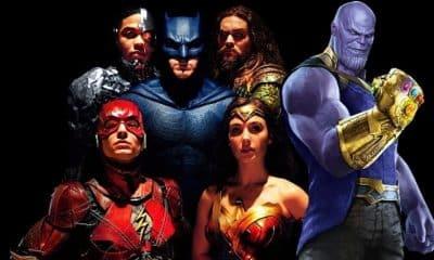 Avengers: Infinity War Justice League DCEU