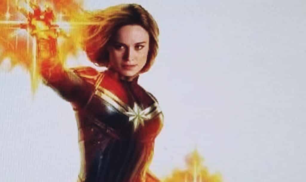Captain Marvel Brie Larson Avengers 4 Leak