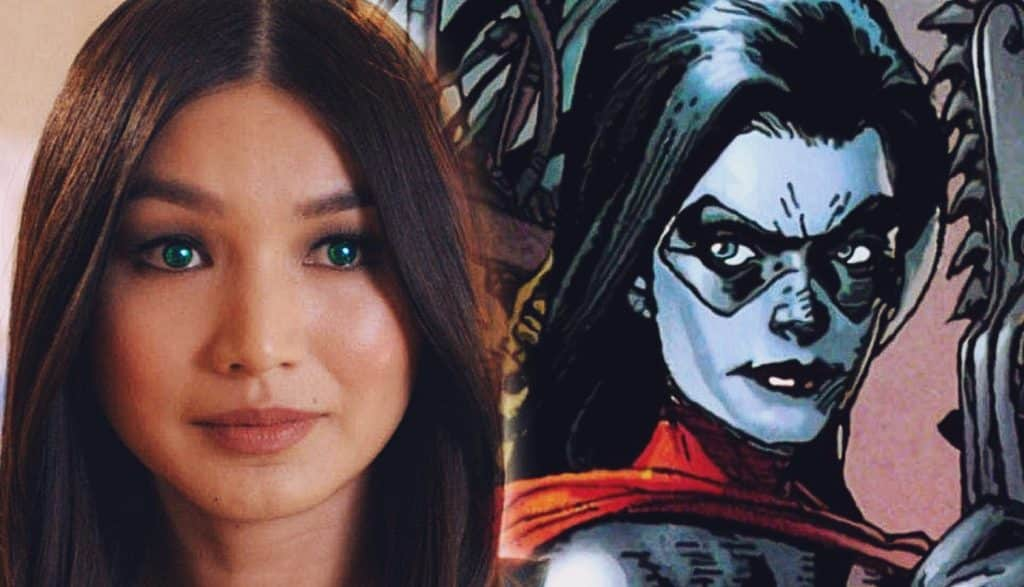 first look at gemma chan as doctor minerva on  u0026 39 captain marvel u0026 39  set