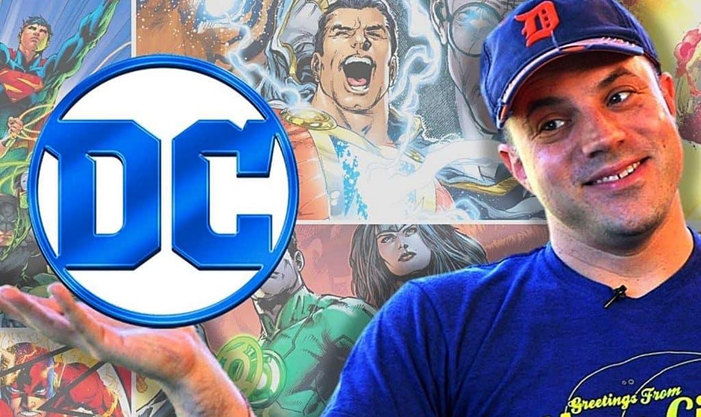 Geoff Johns DC Entertainment DC Comics