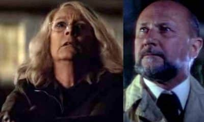 Halloween Movie 2018 Jamie Lee Curtis Laurie Strode Dr. Loomis