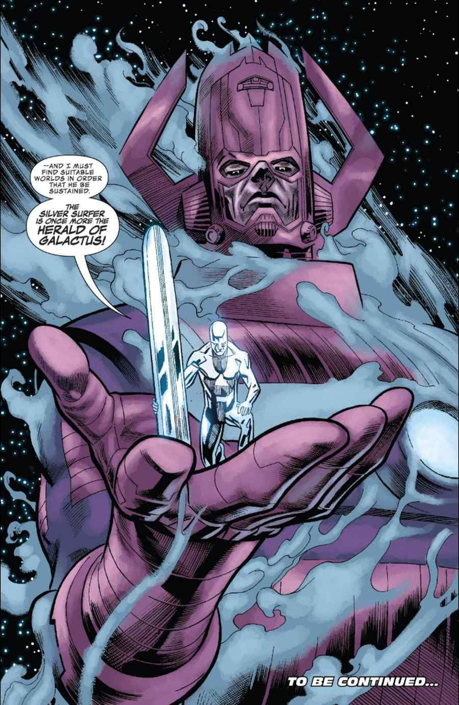 Infinity Countdown #4 Galactus Silver Surfer