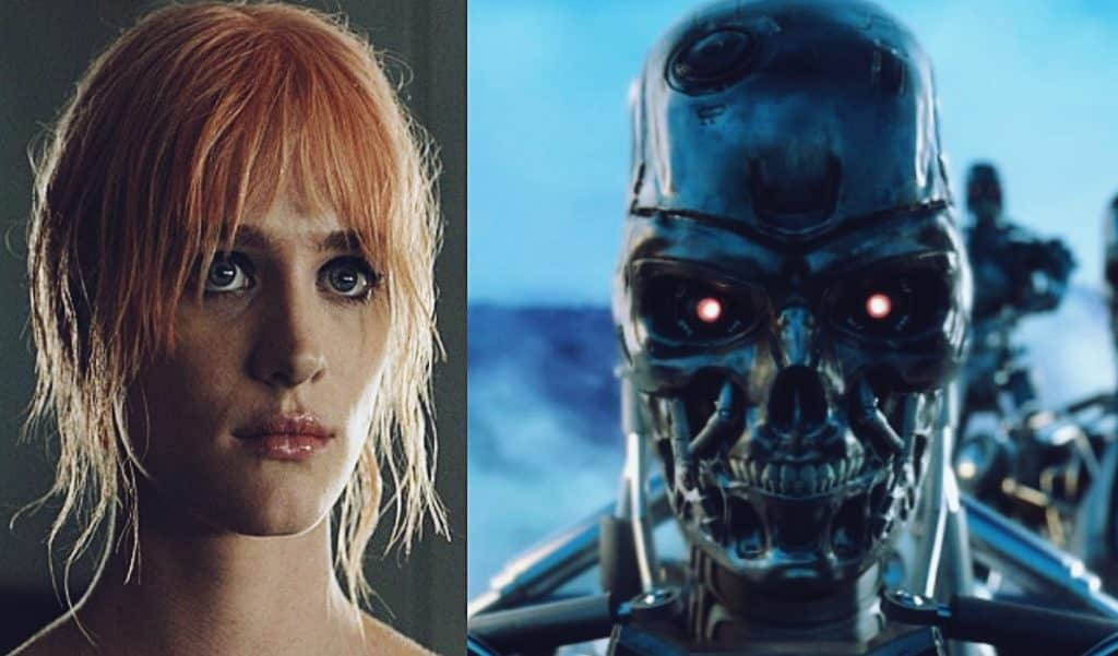 first look at mackenzie davis in  u0026 39 terminator 6 u0026 39  revealed