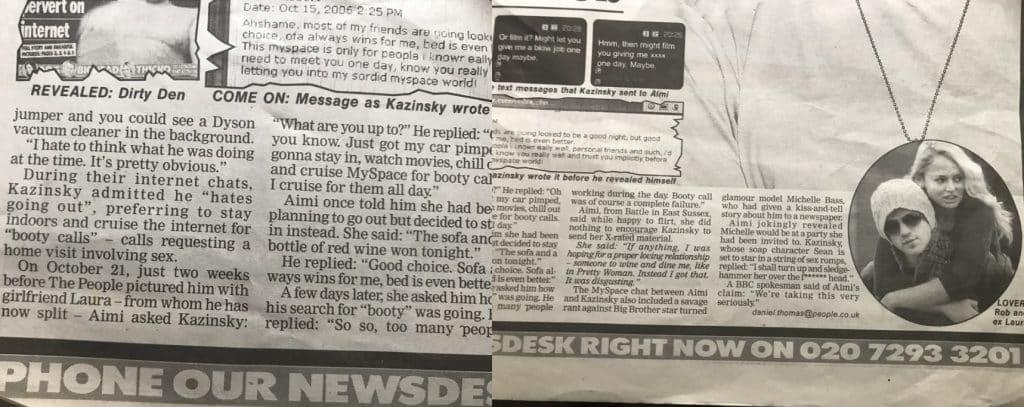 Rob Kazinsky Scandal