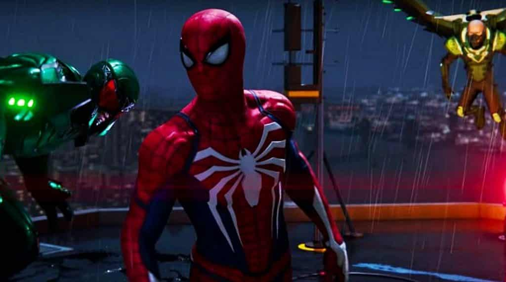 Marvel's Spider-Man Video Game 2018