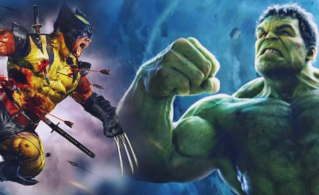 Wolverine Hulk MCU Avengers 4