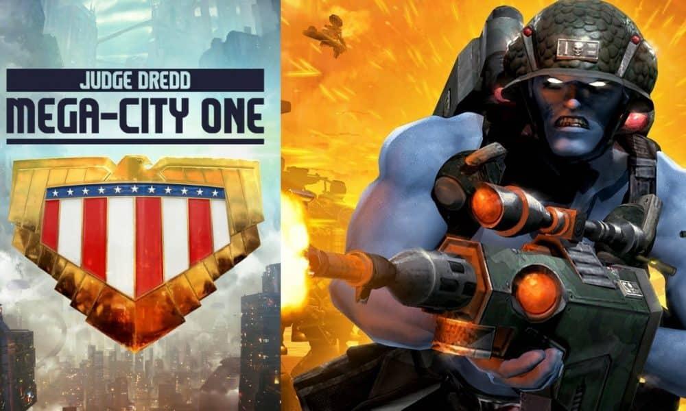 2000 AD Judge Dredd: Mega-City One Rogue Trooper Movie
