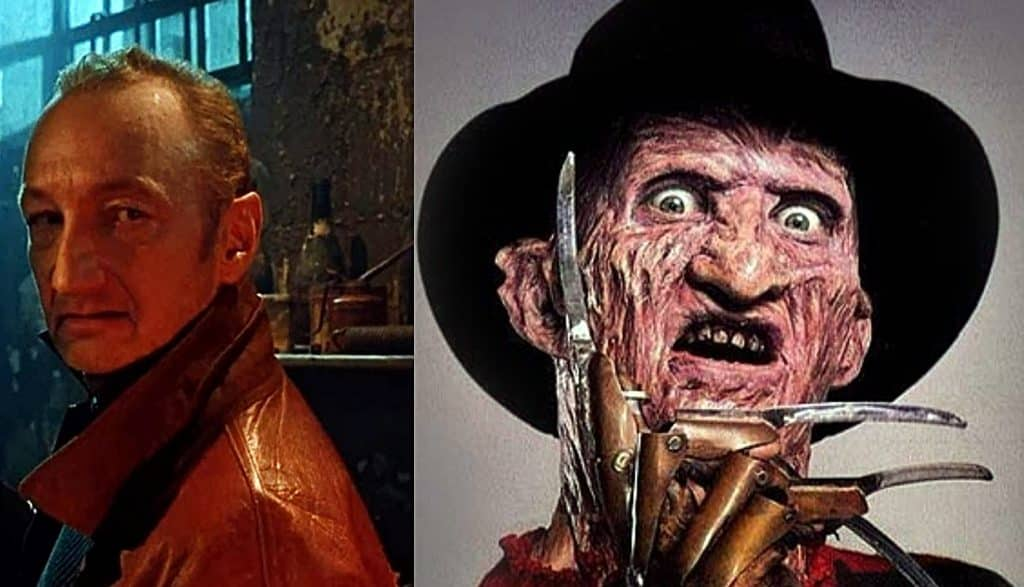 A Nightmare on Elm Street Robert Englund Freddy Krueger