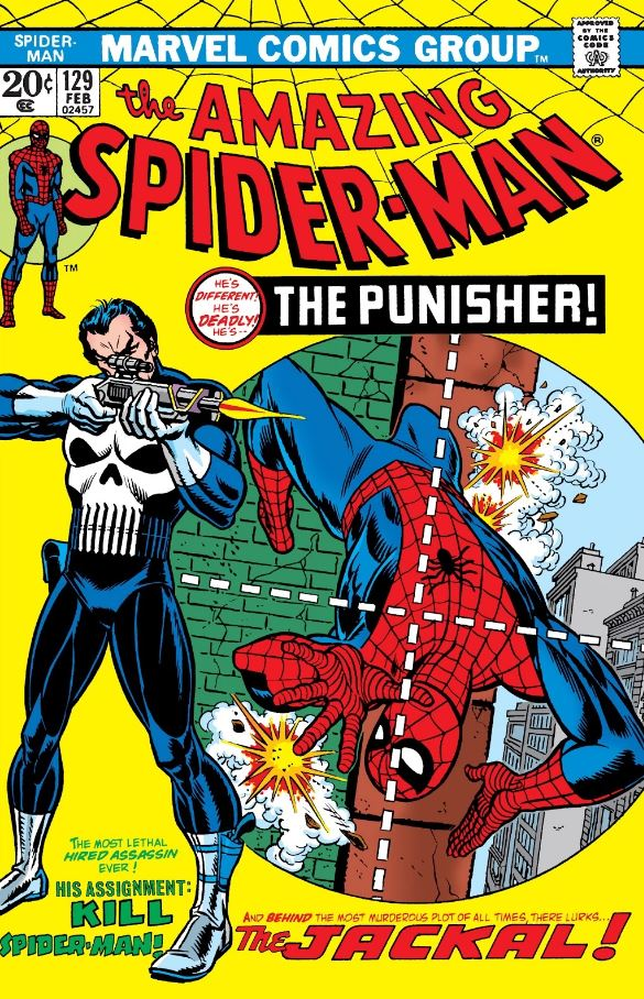 Amazing Spider-Man 129 The Punisher Marvel