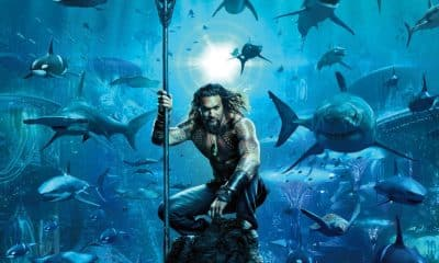Aquaman Poster Jason Momoa