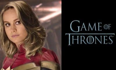 Captain Marvel Game of Thrones