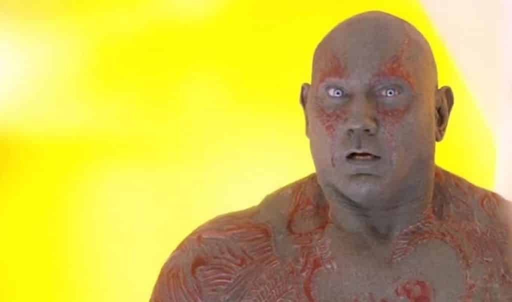 Dave Bautista James Gunn Guardians of the Galaxy
