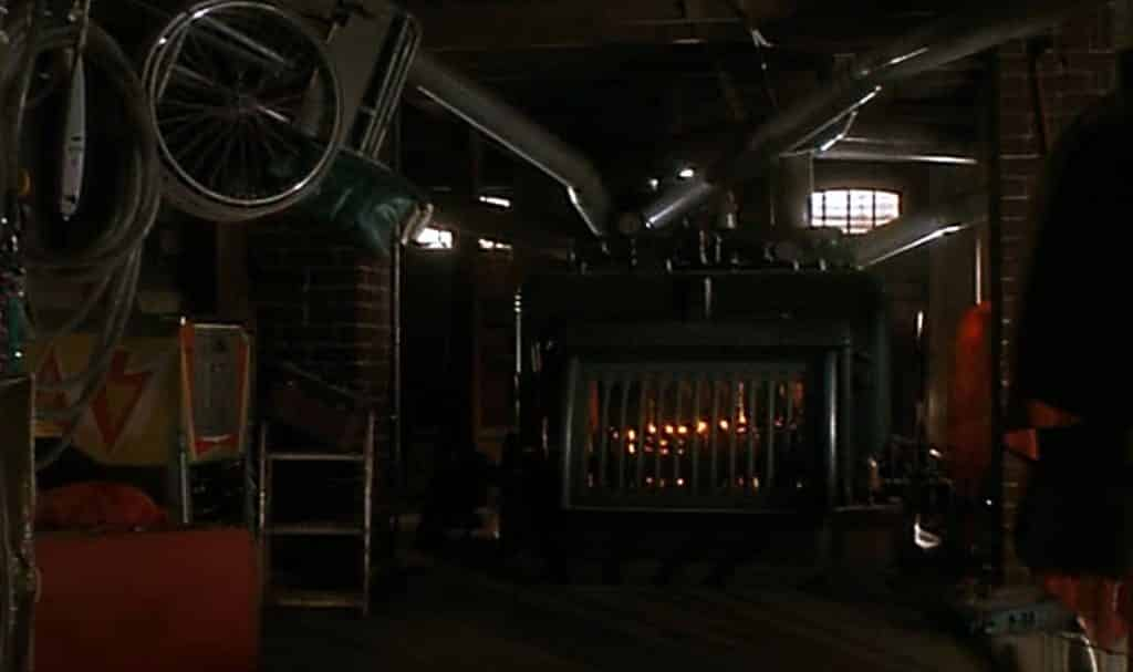 Home Alone Furnace Monster Scene