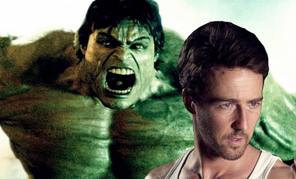 The Incredible Hulk Edward Norton
