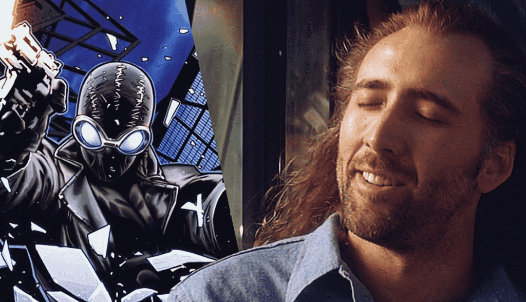 Nicolas Cage Spider-Man Noir Spider-Man: Into The Spider-Verse