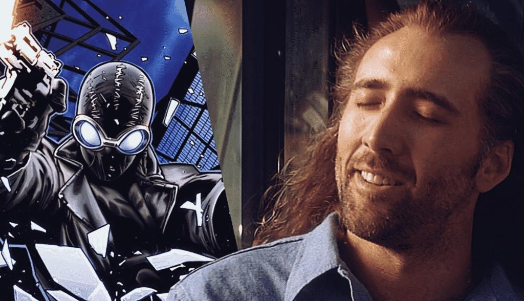 Nicolas Cage Spider-Man Noir Spider-Man: Into The Spider-Verse