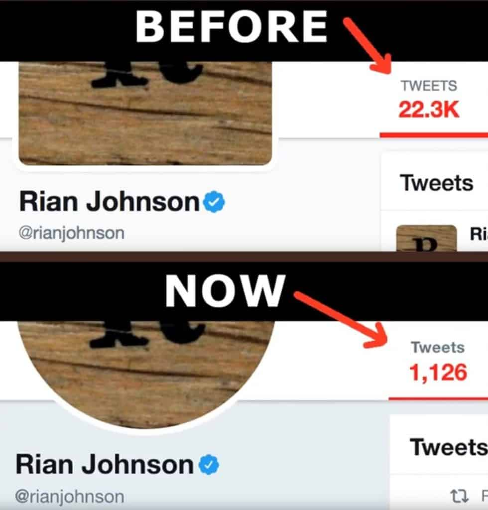 Rian Johnson Tweets