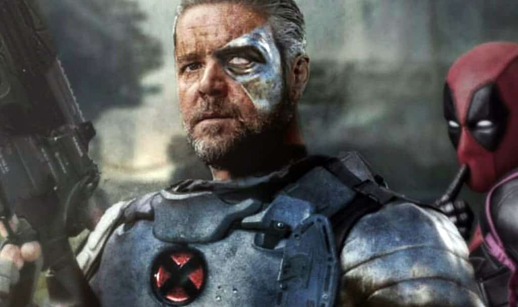 Russell Crowe Cable Deadpool 2