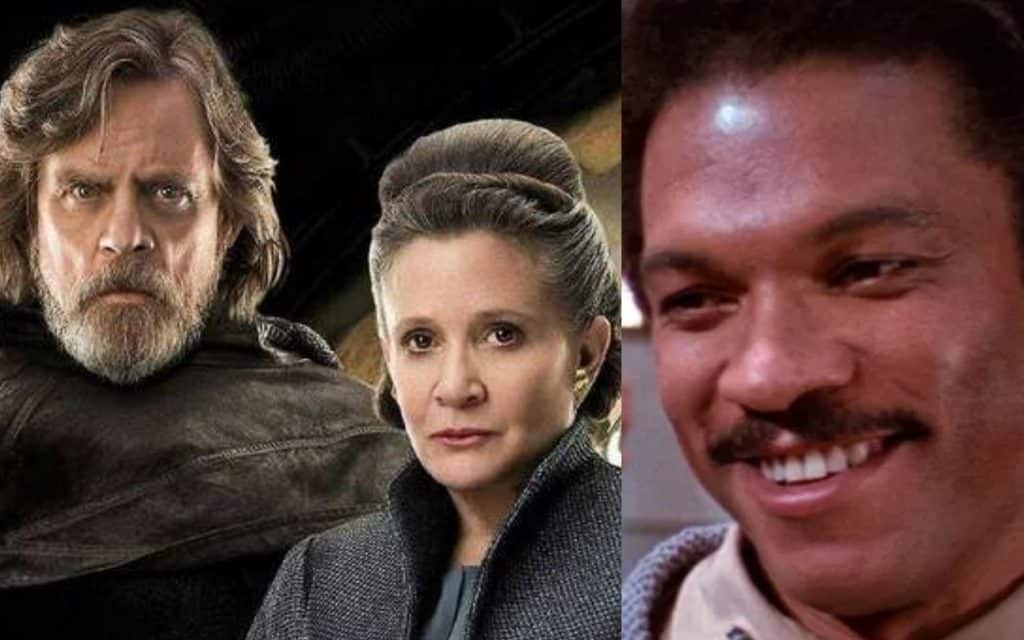 Star Wars: Episode IX Mark Hamill Carrie Fisher Billy Dee Williams