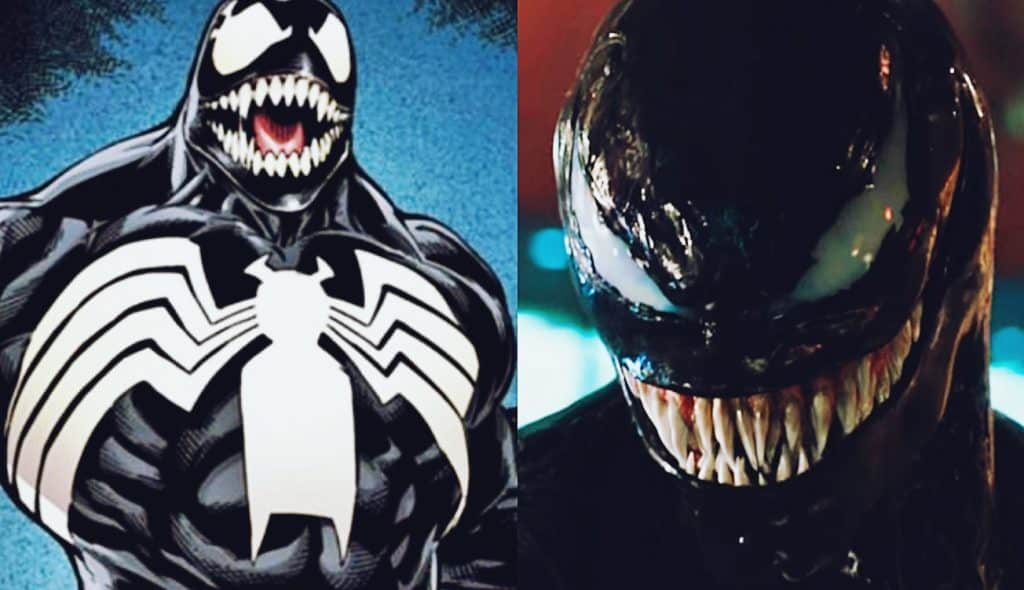 Venom Movie Spider Symbol