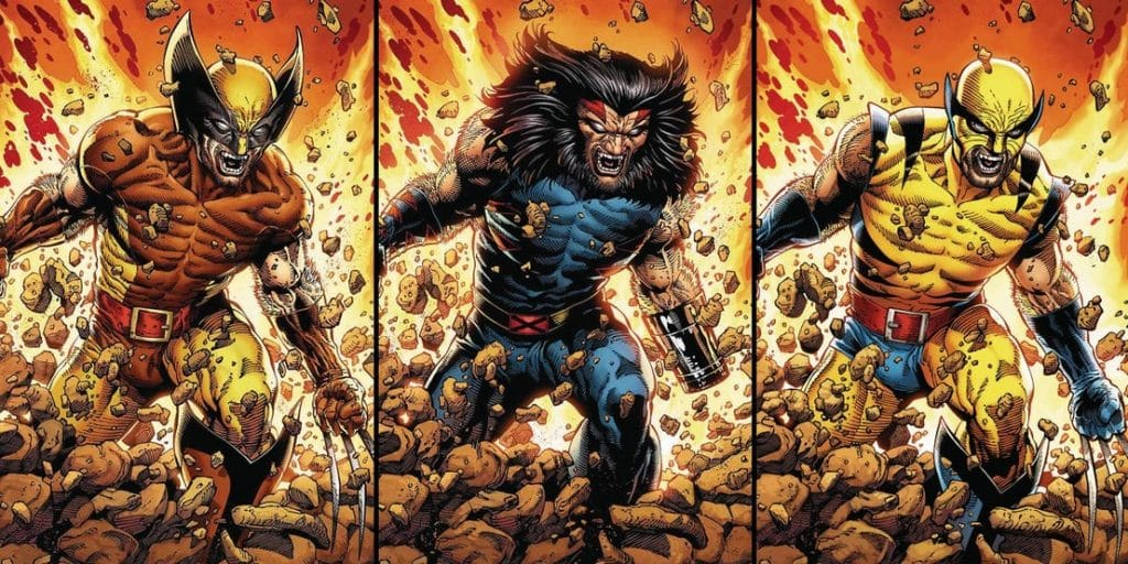 Return of Wolverine Comic Variants