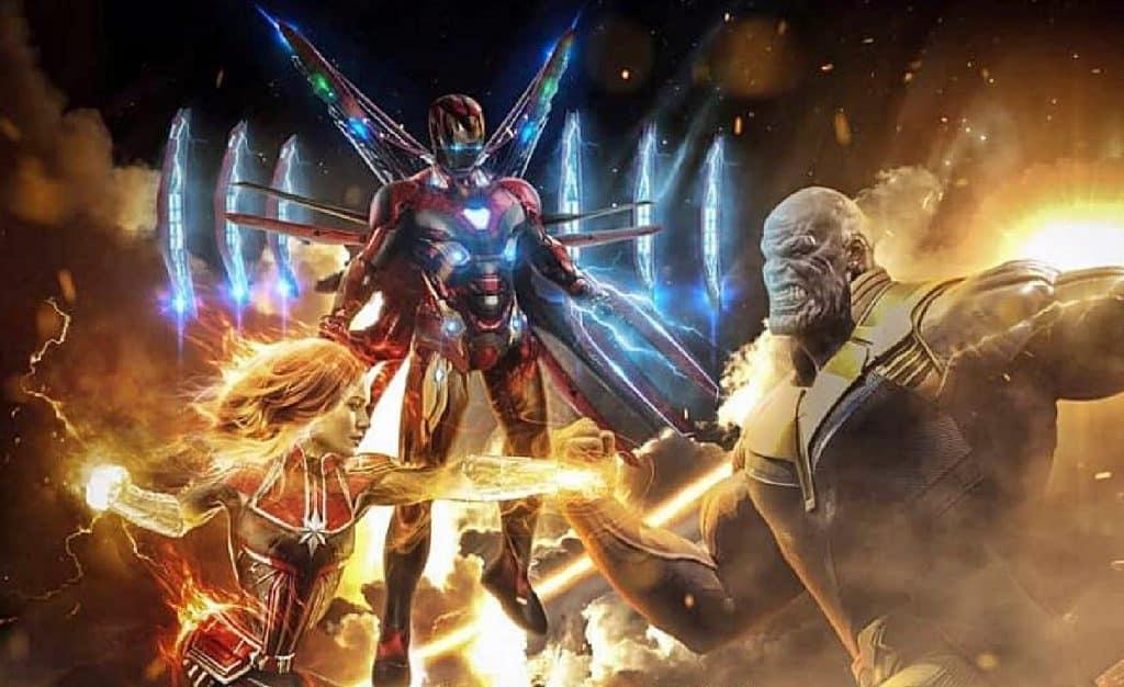 Avengers 4 MCU Captain Marvel Iron Man Thanos