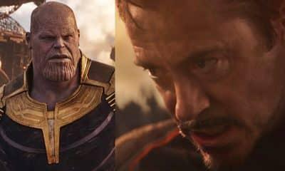 Avengers: Infinity War Thanos Tony Stark Iron Man