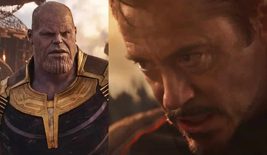 Avengers: Infinity War Thanos Tony Stark Iron Man
