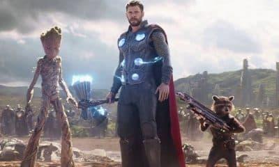 Avengers: Infinity War Thor Wakanda