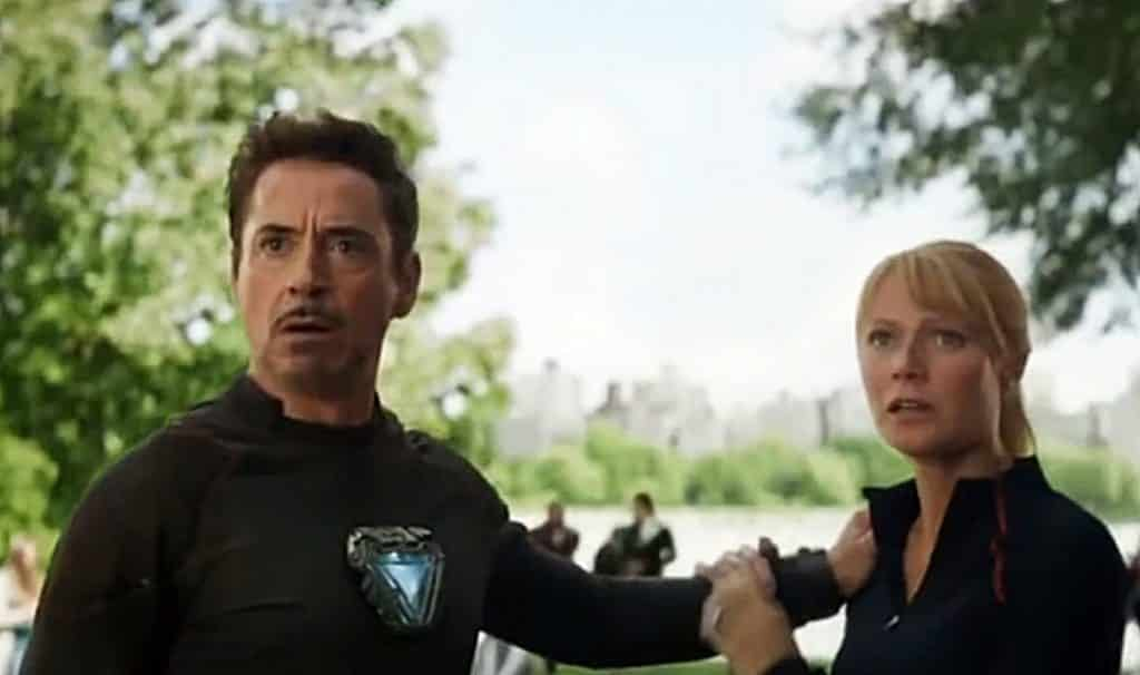Avengers: Infinity War Tony Stark Pepper Potts
