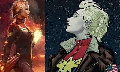Captain Marvel Movie Comics