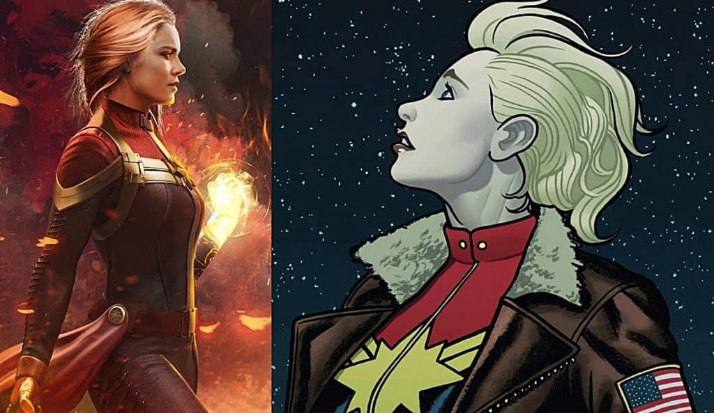 Captain Marvel Movie Comics